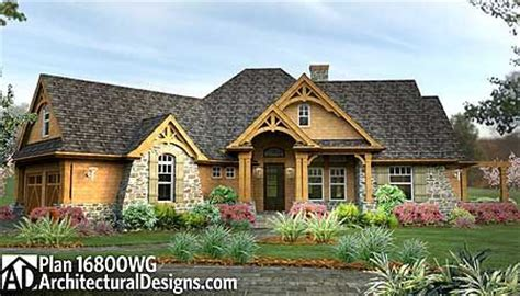 mountain vacation home plans plan w16800wg craftsman mountain cottage corner lot