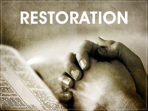 response restoration lights september 2011 gladly listening