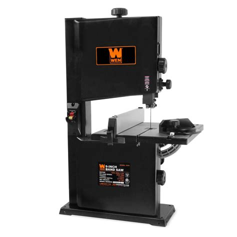 bench top bandsaw reviews wen 2 5 amp 9 in benchtop band saw 3959 the home depot