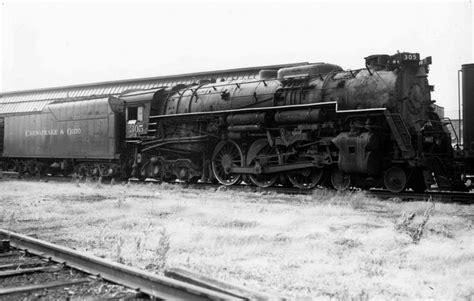 steam locomotive diagrams of the chesapeake ohio railroad c o steam locomotive 305 huntington wva c 1955 chesapeake ohio railway