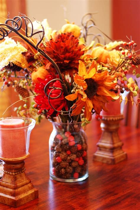 thanksgiving decorations to make at home diy thanksgiving flower berries bouquet best easy home