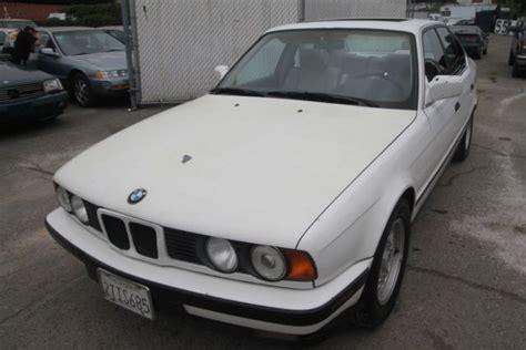 bmw 535i 1990 for sale 1990 bmw 535i manual 6 cylinder no reserve for sale bmw