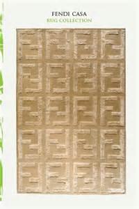 Fendi Rug by Fendi Casa Rug Textiles Rugs Fabrics Wallpapers