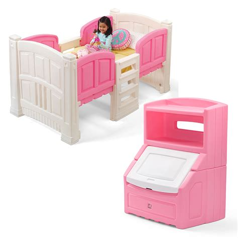step 2 bedroom furniture girl s loft storage bedroom set step2