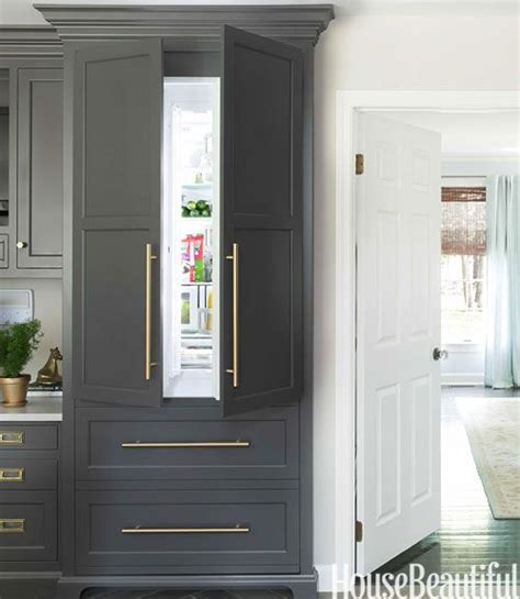 cabinet panel front refrigerator which would you choose panel front or glass front refrigerator tobi fairley