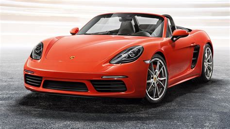 Porsche At by 2017 Porsche 718 Boxster Review Top Speed