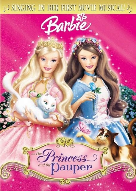 barbie film videos in hindi barbie as the princess and the pauper 2004 hindi
