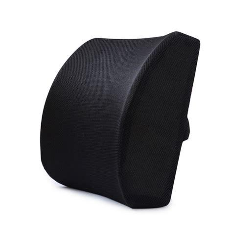 pillow for driving back support pillow memory foam lumbar cushion lower back