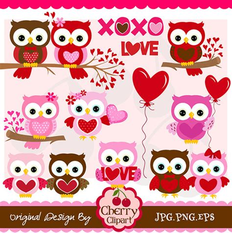 valentines owl s day owl clipart clipart suggest