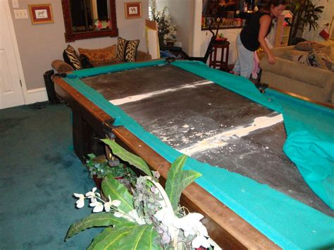 brunswick heirloom pool table w e m distributors before after 1 of 2