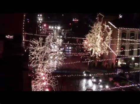 bloomington canopy of lights youtube