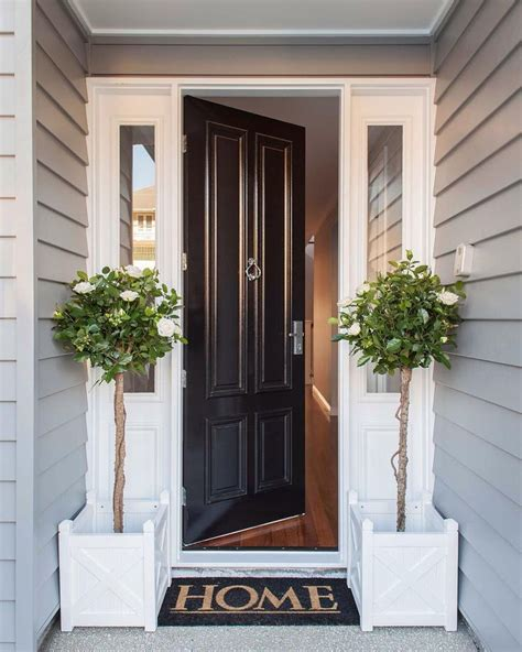 Small Outside Doors Best 25 Front Entrances Ideas On Farmhouse