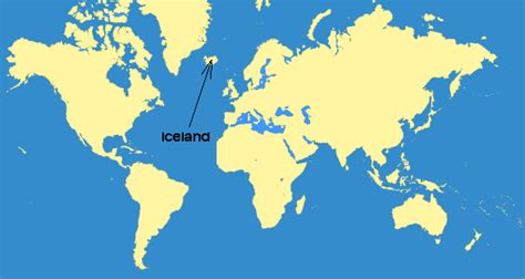 world map with iceland iceland my in motion but still a go