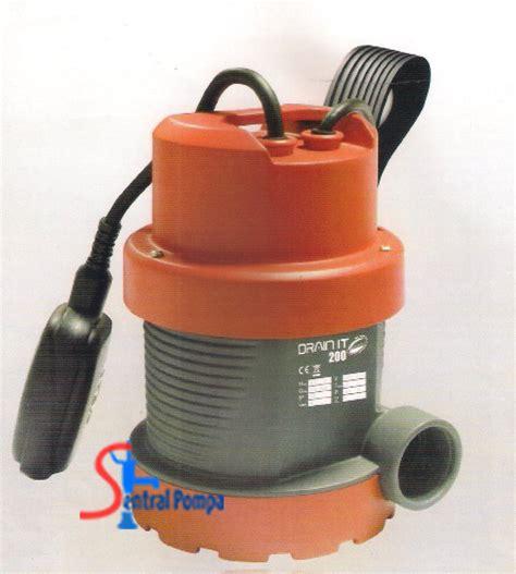 Pompa Celup 200 Watt pompa celup leader drain it 200 sentral pompa