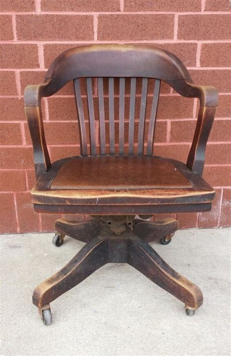 antique wooden office chair antique furniture