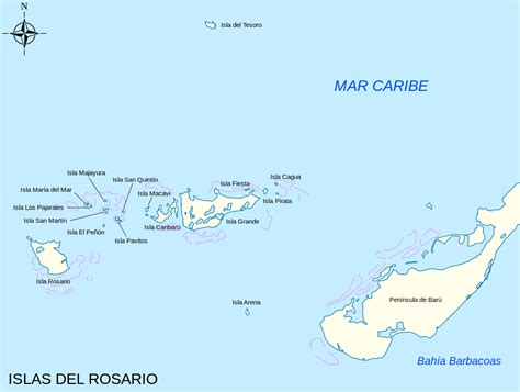 Square Miles To Square Feet by Rosario Islands Wikipedia
