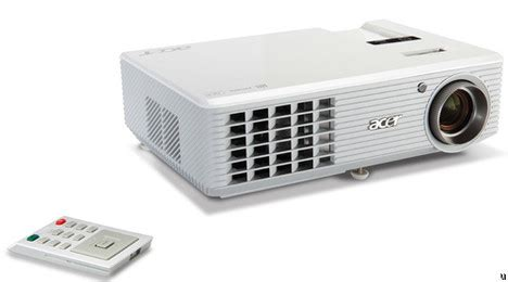 Projector Acer H5360 acer h5360 and x1261 projectors ubergizmo