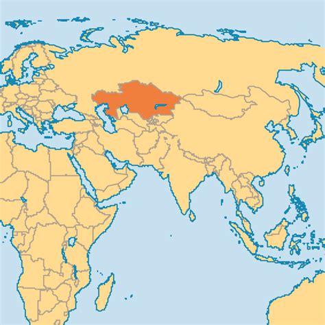 map world kazakhstan kazakhstan operation world