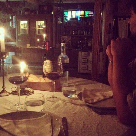cenetta a lume di candela da favola picture of al lumicino isola della scala
