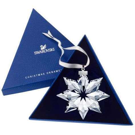 swarovski annual edition large christmas star snowflake