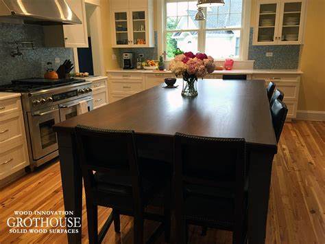 walnut wood counter for kitchen island in florida walnut kitchen island countertop ideas from virginia