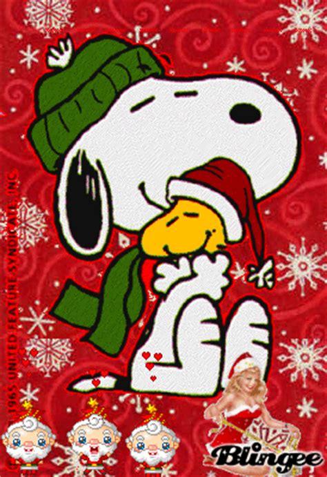 imagenes animadas snoopy navidad snoopy woodstock fotograf 237 a 78426956 blingee com