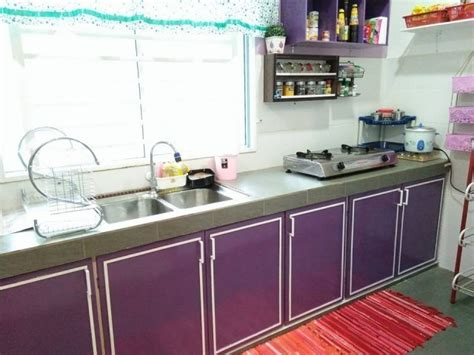 projek kabinet dapur diy  kos sekitar rm