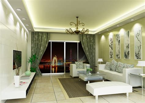 Interior design living room green 3d house free 3d house pictures