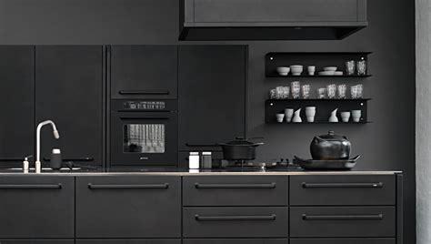Black Kitchen Cabinets With Black Appliances Photos