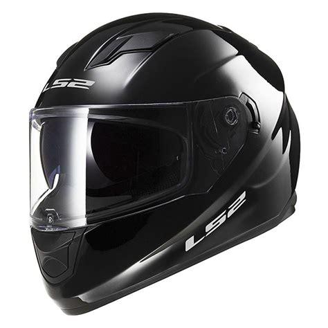 Helm Monton Black Glossy Original jual helm ls2 ff320 solid gloss black ringan visor remov