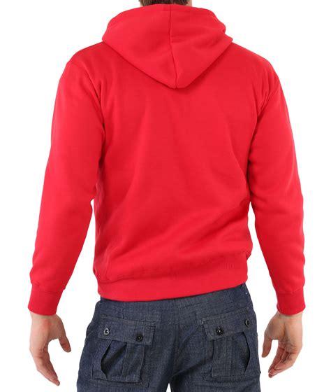 Sports Hooded Zip Top mens zip up plain tracksuit hoody hoodie hooded top jacket