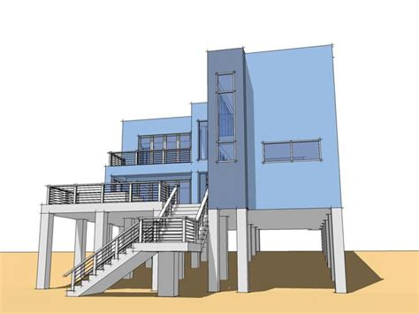 Modern Beach House Interior Modern House Modern Beachfront House Plans