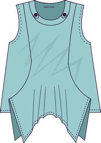 Blouse Mayumi details zu lagenlook schnittmuster top mayumi