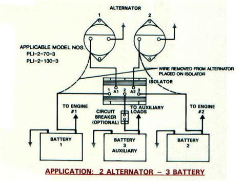 battery isolators e marine systems