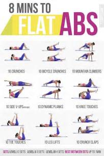 Ab Workout 8 Min Abs Workout Poster 30 Day Ab Challenge Ab Diet