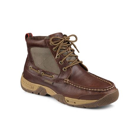 sperry boots mens sperry top sider boatyard chukka s boots tackledirect