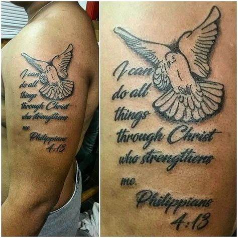 bible verse tattoo on shoulder blade bible verse tattoo design ideas for you