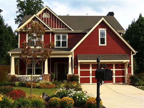 red homes new coats exterior paint color schemes house counselor