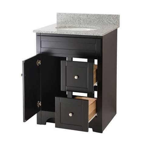 Espresso Bathroom Vanity Worthington 24 Inch Espresso Bathroom Vanity Burroughs