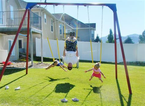 adult sized swing set swing set big enough for adults