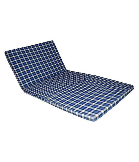 Collapsible Mattress by Satcap Satcap Folding Mattress Single Bed Below 7 62cms