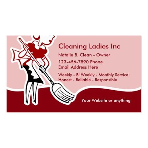 Free Business Card Templates For Cleaning Services by 150 Best House Cleaning Business Cards Images On