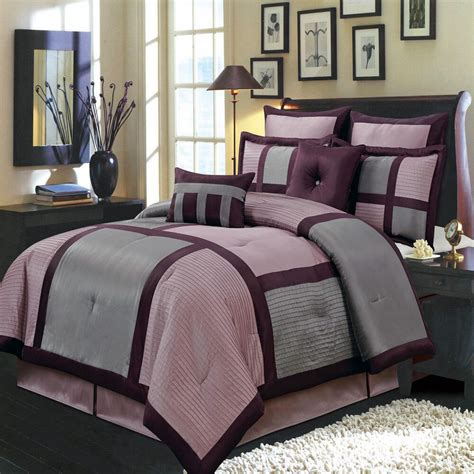 Bedding Sets by Purple 8 Pc Bedding Set Includes Comforter Skirt