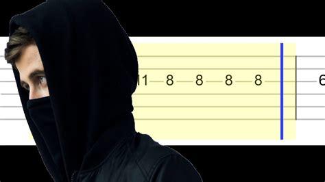 alan walker spectre chords alan walker the spectre easy guitar tabs tutorial