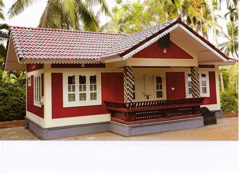home design 10 lakh 10 lakh 2bhk house at thenhipalam building designers
