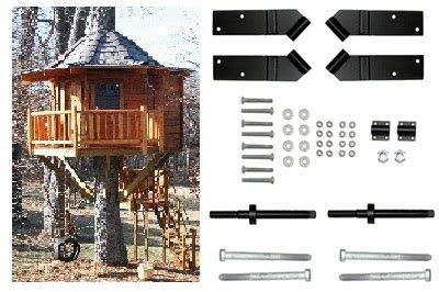 tree house kits 10 square treehouse kit tab treehouse bolts hardware