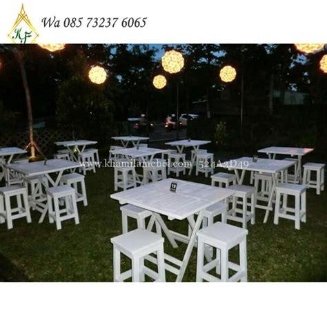 Jual Kursi Cafe Outdoor meja kursi cafe kayu outdoor cat duco khamila mebel