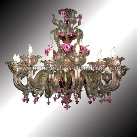 Murano Chandelier Quot Gritti Quot 16 Lights Murano Glass Chandelier Murano Glass