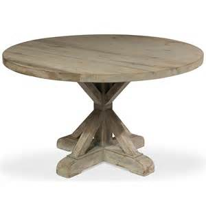 Rustic Round Kitchen Table » Home Design 2017
