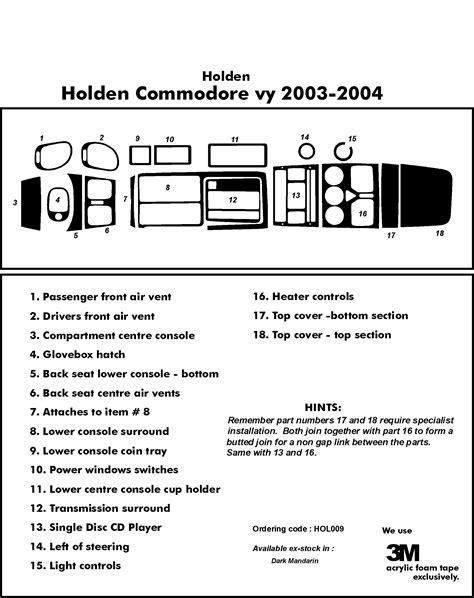 100 vx commodore cd player wiring diagram holden vx